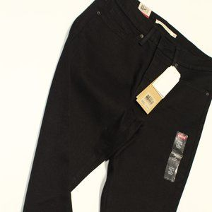 Black Levis MID RISE 311 Shaping Skinny jeans